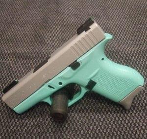 Lime Green Pistol