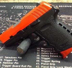 Orange Pistol