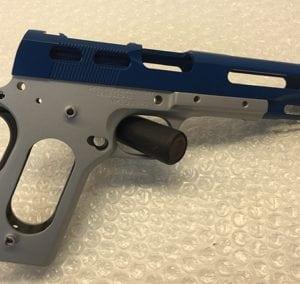 Gray Blue Pistol