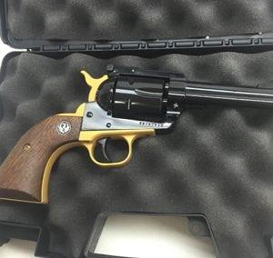 Gold Black Silver Revolver