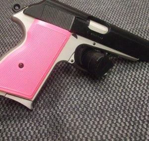 Pink Black Pistol