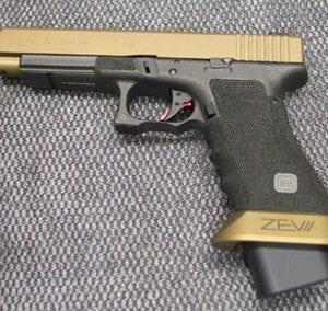 Gold Black Pistol