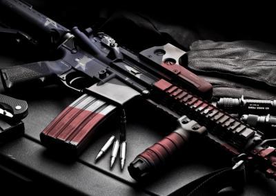 American Flag M4