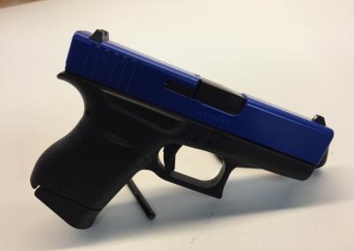 Black Blue Pistol