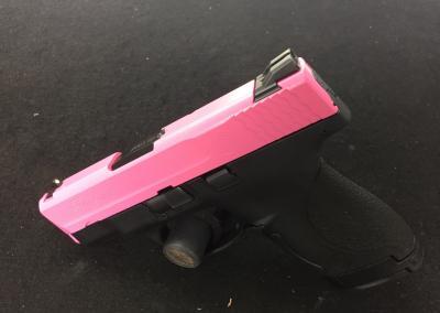 Pink Handgun
