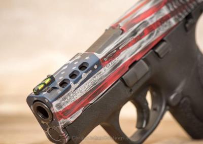 Faded Flag Handgun