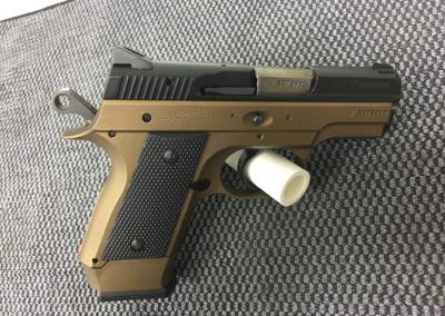Bronze Handgun