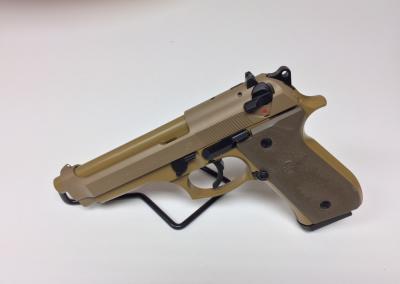 Tan Handgun