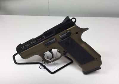 Black Tan 9mm Handgun