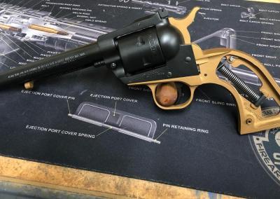 Hand Gun Black n Bronze